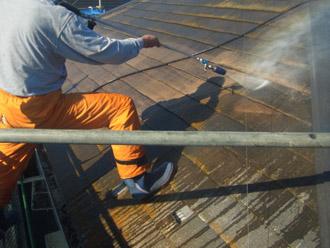 横浜市瀬谷区 棟板金交換 屋根塗装・外壁塗装 屋根の高圧洗浄