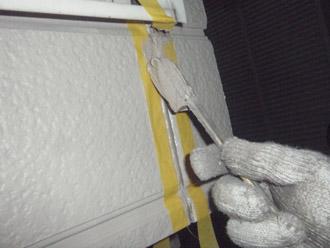 横浜市瀬谷区 棟板金交換  屋根塗装・外壁塗装 目地の補修