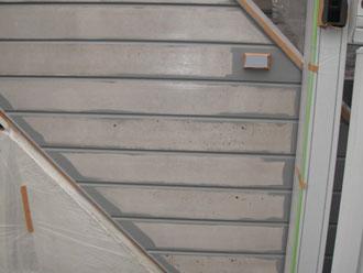 横浜市磯子区 外壁塗装 中塗り ナノコンポジットW