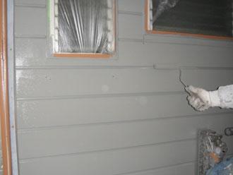 屋根塗装工事 外壁塗装 上塗り ナノコンポジットW