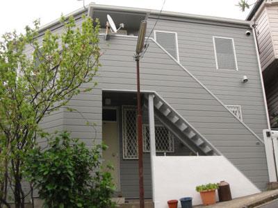 横浜市磯子区 屋根葺き替え 外壁塗装 階段補修 完工