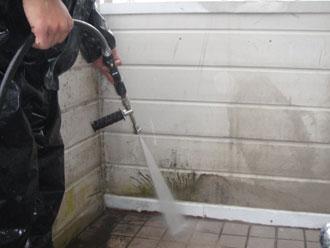 横浜市磯子区 高圧洗浄 外壁洗浄