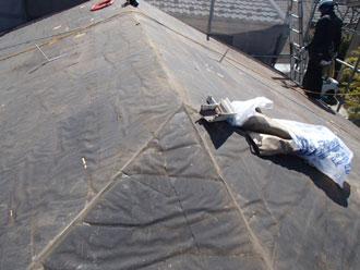 屋根塗装工事 屋根葺き替え 既存屋根材撤去
