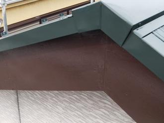 神奈川県磯子区 破風板塗装工事 完工
