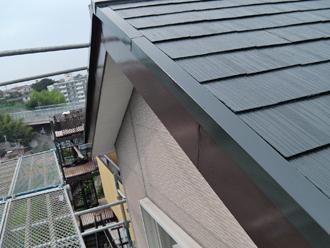 屋根塗装工事 破風板塗装工事 完工