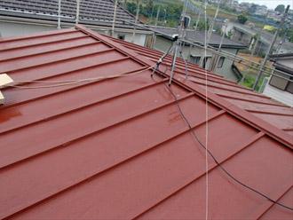 横浜市都筑区 屋根葺き替え 外壁塗装 棟板金の設置