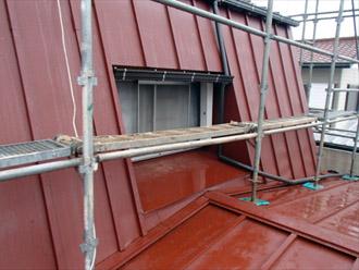 横浜市都筑区 屋根葺き替え 外壁塗装 瓦棒葺き