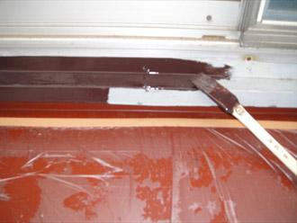 横浜市都筑区 屋根葺き替え 外壁塗装  窓枠の塗装