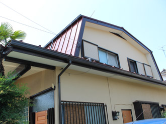 横浜市都筑区 屋根葺き替え 外壁塗装 全ての工事完了