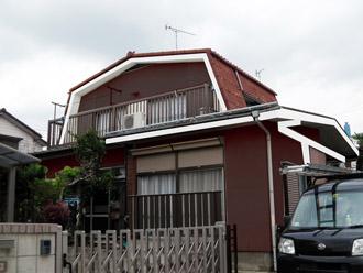 横浜市都筑区 屋根葺き替え 外壁塗装 カラーシミュレーション茶系統
