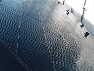 横浜市 屋根塗装 遮熱塗料 サーモアイシリコン 完工
