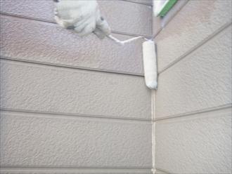 横浜市 外壁塗装 下塗り