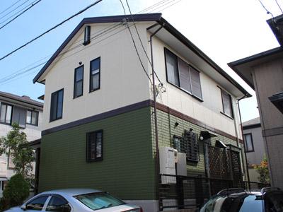 神奈川県横須賀市 屋根塗装 外壁塗装 屋根塗装 外壁塗装完了