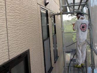 神奈川県横須賀市 屋根塗装 外壁塗装 外壁の高圧洗浄
