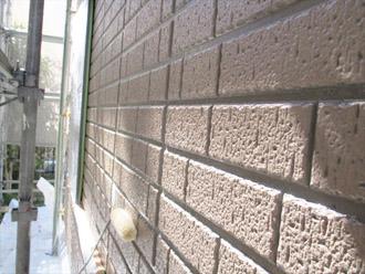 神奈川県横須賀市 屋根塗装 外壁塗装 下塗り