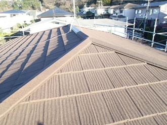屋根カバー工法 後
