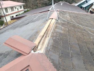 屋根カバー工法 前