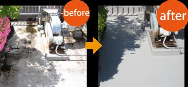 排水不良を防水工事で改善