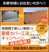 屋根カバー工法キャンペーン&雨樋清掃