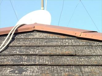 屋根カバー工法 アスベストを含むスレート屋根材