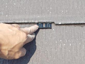 金属屋根のエコグラーニへ葺き替え 防水紙の撤去