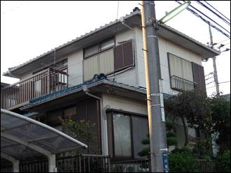 横浜市都筑区 漆喰詰め増し工事・外壁塗装工事 施工前