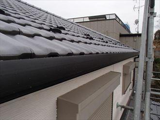 横浜市青葉区 三保町 雪止め、雨樋交換 施工後