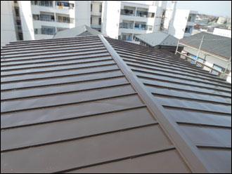 横浜市青葉区 屋根リフォーム 屋根補修 屋根塗装 施工後
