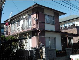 横浜市瀬谷区 外壁塗装(カラーシミュレーション) 施工前