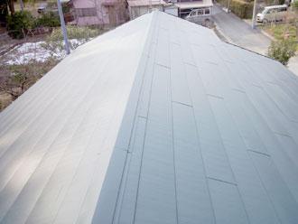 いすみ市 屋根カバー工事 雨漏り修理 施工後