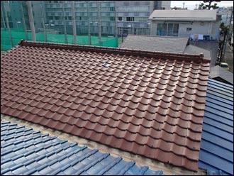 千葉市 屋根葺き替え工事 施工前