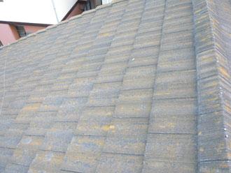 君津市 屋根塗装工事 棟瓦補修工事 施工前