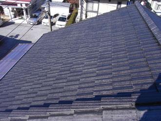 君津市 屋根塗装工事 棟瓦補修工事 施工後