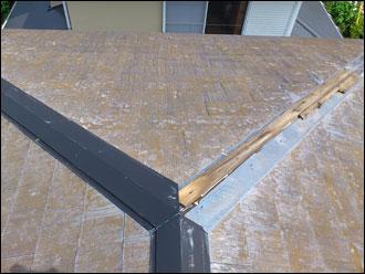 市原市 屋根カバー工事 破風・雨樋塗装工事 施工前
