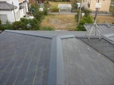 横浜市泉区で屋根工事 棟板金交換 施工後