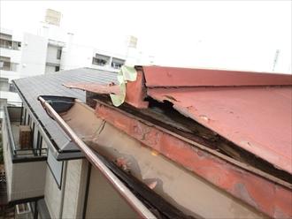 横浜市青葉区 屋根リフォーム 屋根補修 屋根塗装 施工前