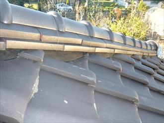東金市 屋根工事 漆喰詰め直し工事 施工後