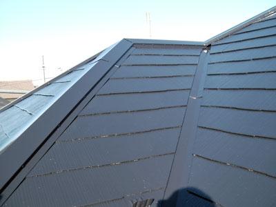 横浜市 屋根の遮熱塗装といつまでもキレイな外壁塗装 施工後