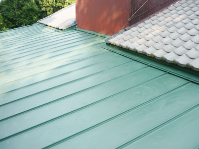 印西市 瓦棒 屋根葺き替え工事 施工後