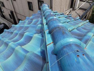 八千代市 棟漆喰詰め増し工事 施工後