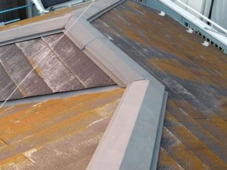 横浜市 屋根の遮熱塗装といつまでもキレイな外壁塗装 施工前