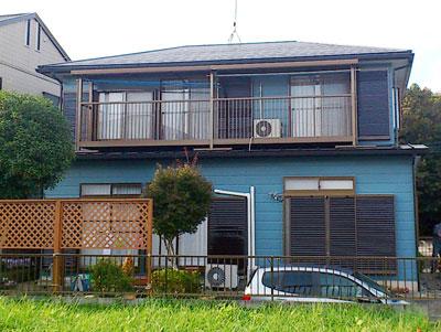 印旛郡酒々井町 屋根リフォーム 屋根カバー工事 外壁塗装工事 施工後