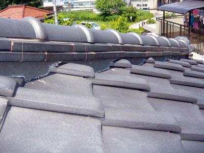 千葉市若葉区 棟漆喰取り直しの施工事例 地震時の不安を解消 施工後