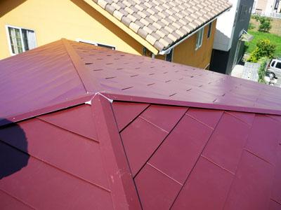 木更津市 雨漏り補修 屋根カバー工法で屋根リフォーム 施工後