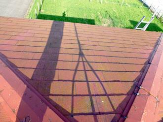 木更津市 雨漏り補修 屋根カバー工法で屋根リフォーム 施工前