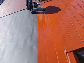 千葉県木更津市 錆び止め塗料の塗装