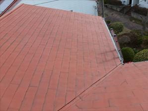 千葉県木更津市 雨漏り改善 屋根カバー・屋根塗装工事 施工前