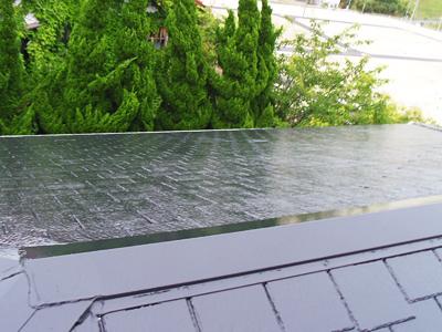 木更津市 遮熱塗料の「サーモアイSi」で屋根塗装 施工後