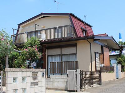 横浜市都筑区 屋根葺き替えで雨漏り解消 外壁塗装 施工後