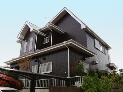 千葉県袖ヶ浦市 台風被害を機にお住まいのイメージチェンジ 屋根・外壁塗装 施工後
